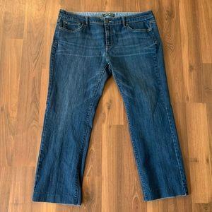 Eddie Bauer Straight Leg Jeans, size 14